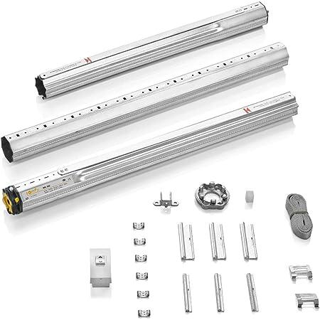 Somfy 2400670 MS 100 Kit de motorizacion mecánico, Motor para persianas, hasta de 4m2, Compatible con Sistema monoblock Convencional o encofrado de Obra, 90 W, 230 V