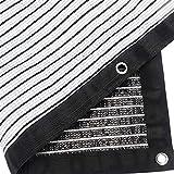 Takefuns - Sombrilla de tela, 90 % de sombra, borde sellado, para pérgola, cubierta, protección solar, polietileno, 22 x 24 pies., 8.2x9.8ft