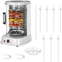 Royal Catering Rôtissoire Verticale Machine À Kébab Poulet Électrique Appareil Mini Machine Grill Rotatif RCGV-1800-1 (3-e...