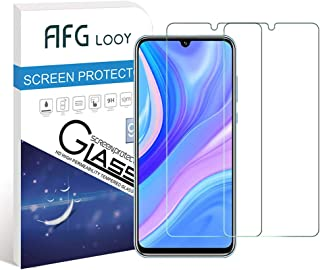 AFGLOOY 2Pack, Screen Protector Compatible with Huawei Y8p/ P Smart S, Tempered Glass for Huawei Y8p/ P Smart S, 9H Hardne...