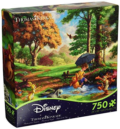 Disney(ディズニー) クラシックパズル 750ピース 【くまのプーさん】 トーマス・キンケード作画 (並行輸入品)