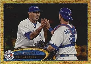 2012 Topps Update Gold Sparkle #US294 Sergio Santos Toronto Blue Jays MLB Baseball Card NM-MT