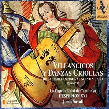 Villancicos Danzas Criollas 1550-1750