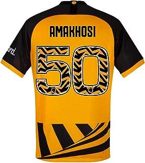 Nike Kaizer Chiefs 50th Anniversary Amakhosi Jersey 2019-2020 (Fan Style Printing)