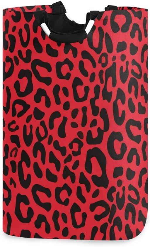 One Bear Fashion Laundry Basket Wholesale Red Christmas Print Fold National uniform free shipping Leopard