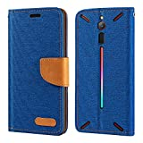 ZTE Nubia Red Magic Case, Oxford Leather Wallet Case with