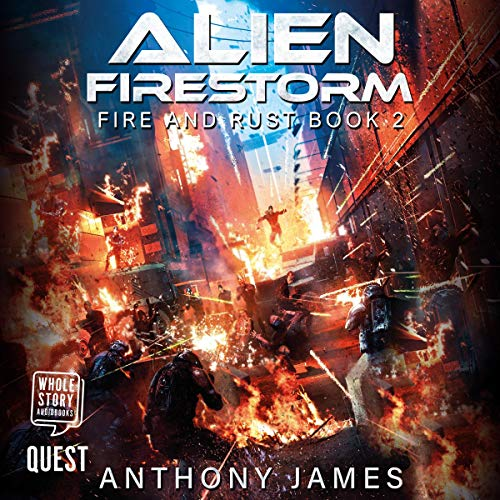 Alien Firestorm  By  cover art