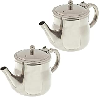 Update International GNS-10 10oz Gooseneck Teapots (Pack of 2)