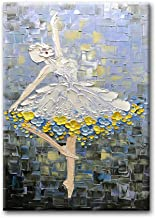 Desihum Ballet Dancers Oil Paintings Modern Decorative Artwork Hand Painted Contemporary Wall Art on Canvas for Home Decoration Wall Decor 2436 inch