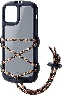 エレコム iPhone 11 Pro ケース アウトドア NESTOUT Fes & Camp アウトドアで役立つストラップ付 ブラック PM-A19BNESTFBK