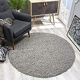 alfombra gris redonda
