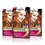 Palette Intense Cream Coloration Intensive Coloración del Cabello 9.7 Rubio Cobrizo - Pack de 3