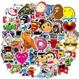 Cute Vsco Vinyl Stickers for Kids Hydroflasks Water Bottles 100 Pcs Aesthetic Trendy Kawaii Stickers Vinyl Wall Decals for Laptop Helmet Car Bumper Luggage Skateboard for Teens Boys Girls Kids