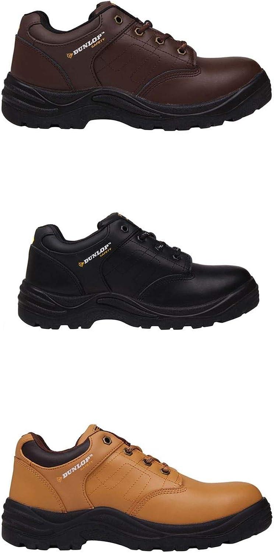 Official Brand Dunlop Kansas Steel Toe Cap Safety shoes Mens Work Boots