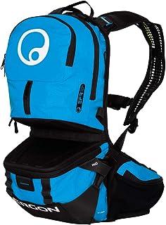 BE3 Enduro Ergo - Mochila para bicicleta, color negro y azul
