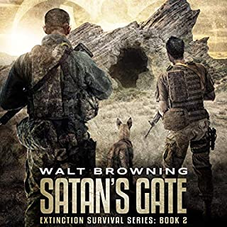 Satan's Gate audiobook cover art