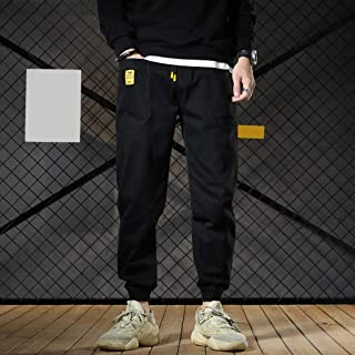 MIS1950s Men`s Casual Safari Style Trouser Loose Cotton Blend Pants Plus Size