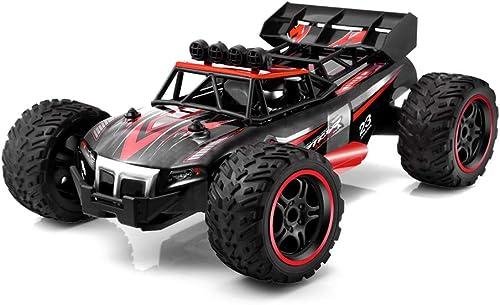 Ferngesteuertes fürzeug RC Autos 1 18 Skala 4WD 2.4 GHz funkferngesteuerter Halb-Wasserdicht Monster Truck Gel ewagen Geschenk für Kinder