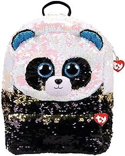 Mochila de peluche con lentejuelas de 35 cm – Bamboo Le Panda