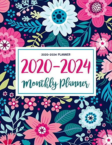 2020-2024 Planner: Five Years 60 Months Calendar Monthly Planner Schedule Organizer For To Do List Academic Schedule Agenda Logbook Or Student Teacher ... (Daily Weekly Monthly Planners With Holidays)
