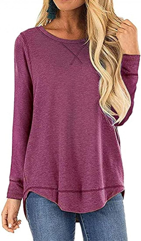 Indefinitely Aukbays Long Sleeve Shirts for Oakland Mall Women's Graphic Women Sweatshirts