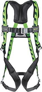 Honeywell AC-QC/UGN Miller by Universal DuraFlex AirCore Full Body Style Harness with Back D-Ring, Quick Connect Leg and Chest Strap Buckle and Sub-Pelvic Strap, Plastic, 5.6
