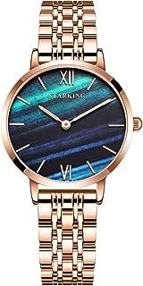 STARKING Watch Rose Gold Watch BL1029 Analog Quartz Mesh Watch Waterproof Lady Dress Watch