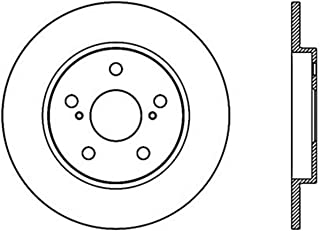 Premium Slotted Drilled Rotors + Ceramic Pads Max Brakes Rear Performance Brake Kit KT083732 Fits: 2009-2013 Toyota Matrix 2.4 2008-2015 Scion XB 2009-2010 Pontiac Vibe 2.4