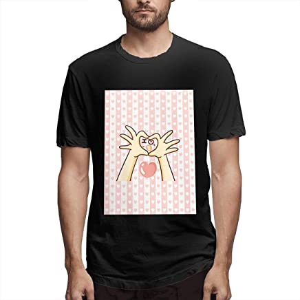 Jully Satt Tennis Love Heart Tennis Gift Men's Printing Sunshine Type Black T-Shirt Tennis Channel