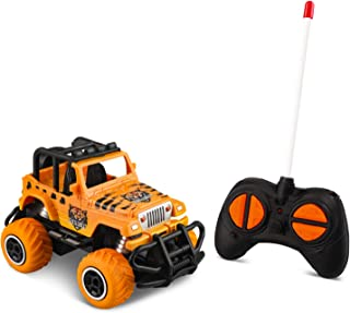 Birthday Gifts for 3 Year Old Boy Toys, Mini Remote Control Car for Boys Toys Age 4-5,Preschool Toys 4WD 1/43 Scale (Orang...