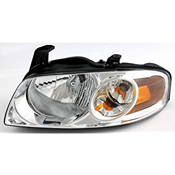 JP Auto Headlight Compatible With Nissan Sentra 2004 2005 2006 Driver Left Side Headlamp