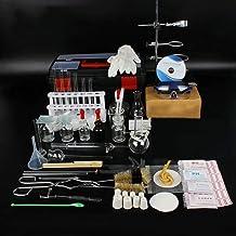 Equipo de laboratorio Juego de herramientas para experimentos de química de destilación Materiales de laboratorio de frasco de vidrio Kit de artículos de vidrio para laboratorio químico