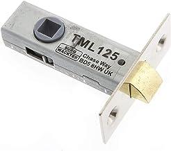 """Sterling TML125N 63mm nikkel buisvormige mortelgrendel, (2.5"""")"""