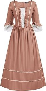 فستان بيونير كولونيال التنكري للسيدات من مسلسل برايري سيفيل وور
