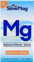 Slow-Mag Magnesium Chloride Plus Calcium Tablets 60