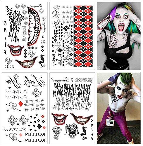 61LZKi4OjML Harley Quinn Tattoos