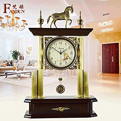 Antigüedades europeas silenciosa oficina Relojes salón dormitorio estudio grande de cobre la creación de modernos relojes