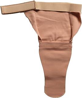 Above Knee AK Stump Shrinker, Amputee Limb Compression, Adjustable Closure Strap, X-Large (14 inch Length)