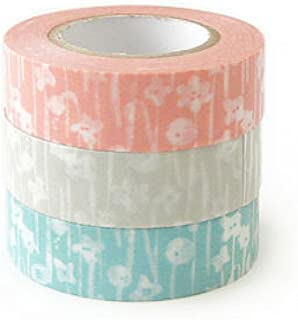 Classiky 日本 Washi 纸面罩胶带 3 张/10 张到 sen [26531 ] 26531-04