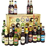 Bier Adventskalender Welt und Deutschland + 24 Flaschen Bier + Geschenk mit Bieren aus aller WELT & DEUTSCHLAND + Bieradventskalender 2019