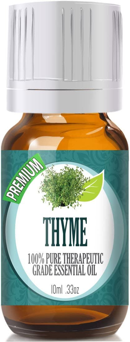 Thyme Essential Oil - 100% Pure Therapeutic Grade Thyme Oil