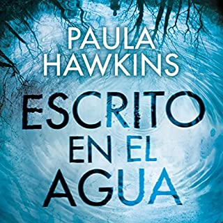 Escrito en el agua audiobook cover art