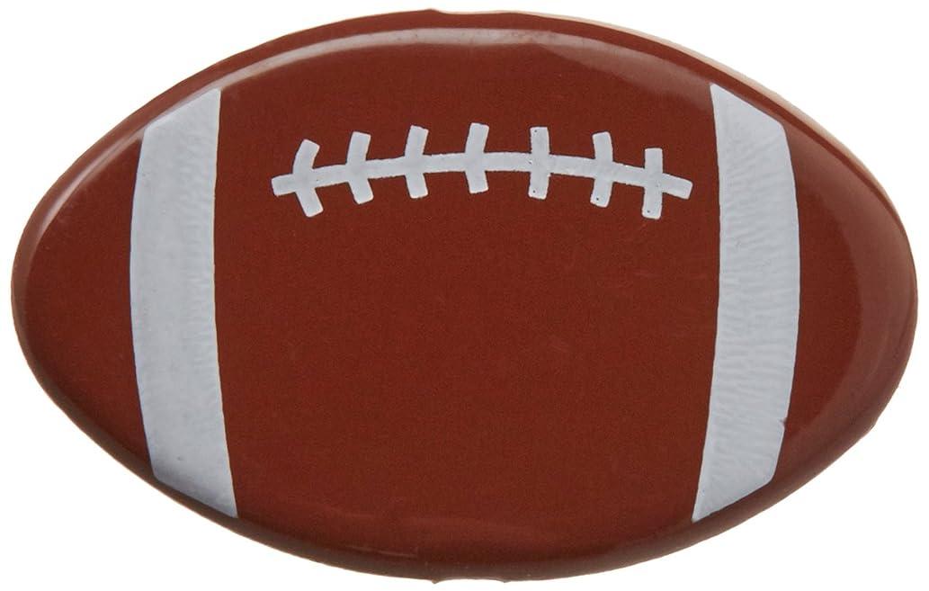 EYELET OUTLET Shape Brads-Football 12/Pkg