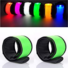 Anmixinuss LED Light Up Armband,Adjustable Glow Wrist Band,Night Safety Light Up Band for Cycling,Run Concerts Outdoor Spo...