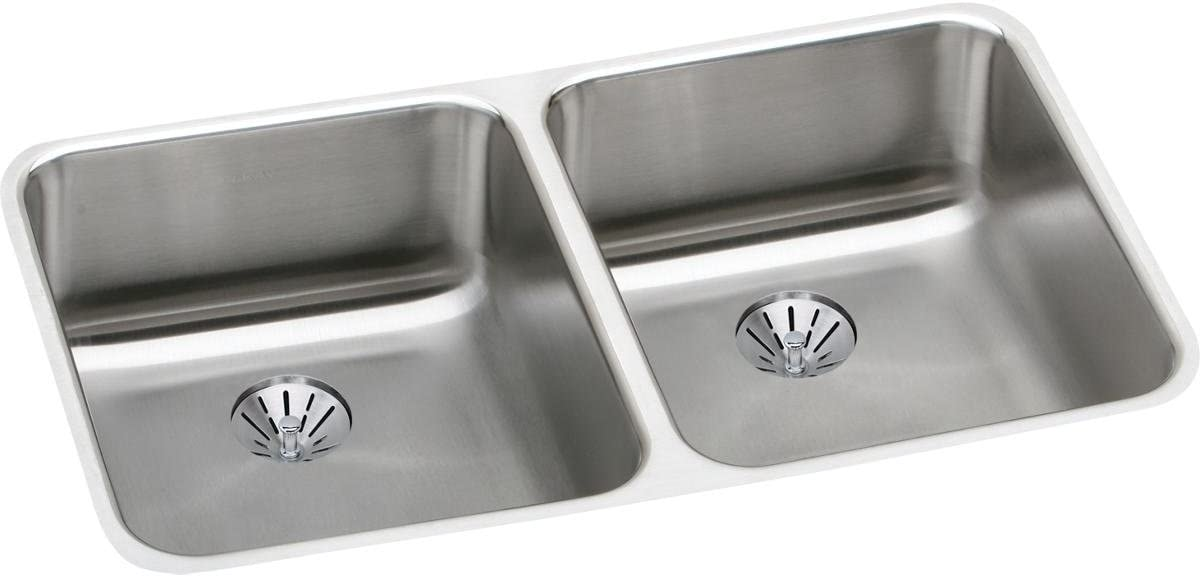 High quality new Ranking TOP1 Elkay ELUHAD311855PD Lustertone Classic S Double Bowl Undermount