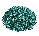Malachit Mini Trommelsteine 100 gramm Chips 3 mm Durchmesser