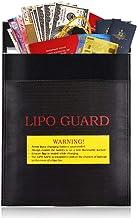 23 x 30 cm, vuurvaste documententas voor contant geld, paspoorten, waardevolle spullen, sieraden en batterijbescherming (z...