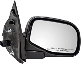 Passengers Power Side View Mirror Heated Puddle Lamp Textured Replacement for Ford Mercury SUV 1L2Z17682CAA