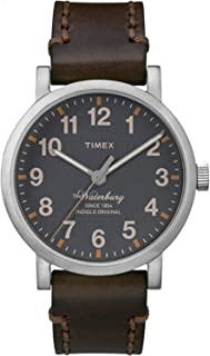 Timex Casual Watch Analog Display Quartz For Men Tw2P58700, Brown Band