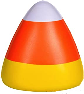 Bulk Candy Corn Stress Ball Toy (24 Pack)